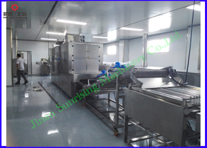 Fully automatic core filling snacks food making machine