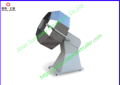 Extruded snacks food octagonal Flavor mixing machine