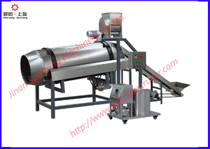 puff snacks flavoring machine for fried snack food production line