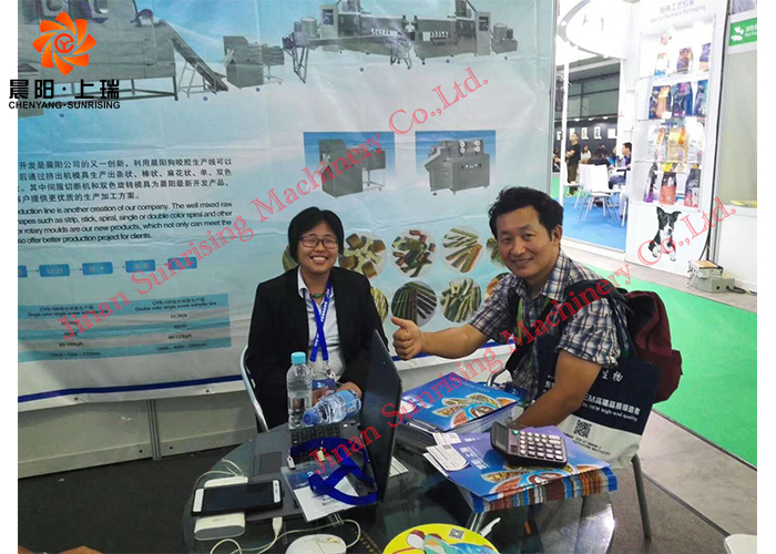 Our company attended the 20th Pet Fair Asia in Shanghai(August 24th-27th)