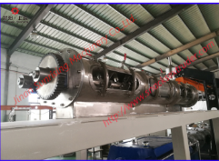 Differential diameter conditioner used for snacks food extruder