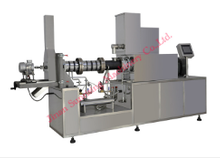 CY-65 120-150kg/hr double screw corn puff snacks food extruder